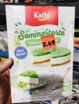 Kathi Backmischung Sommertorte Waldmeister