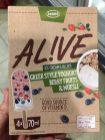Leone Alive ICE CREAM LOLLIES GREEK STYLE Berry Fruits+Müsli 4x70ml