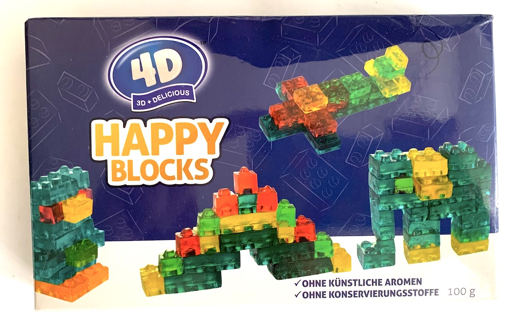 P-OS innovation 4D Happy Blocks Gummibonbon