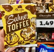 Penny Chocola Sahne-Toffee Kuhbonbons 300G