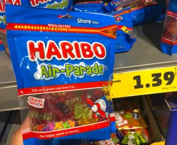 Penny Haribo Air-Parade Travel Edition Share Size