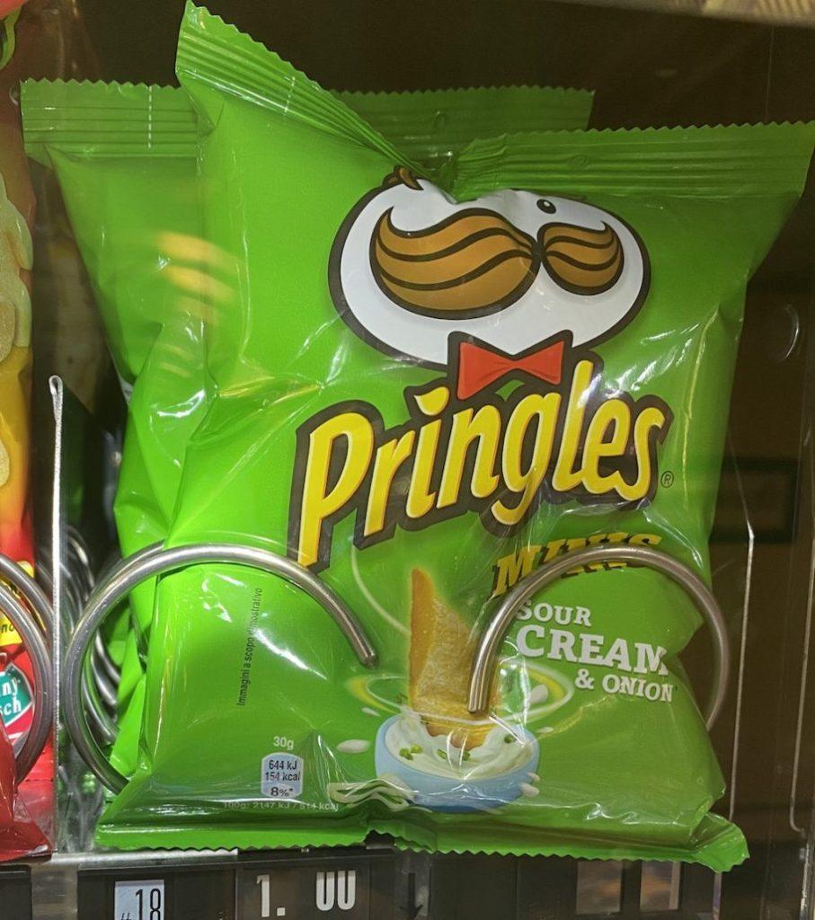 Pringles Sour Cream+Onion Beutel 30G