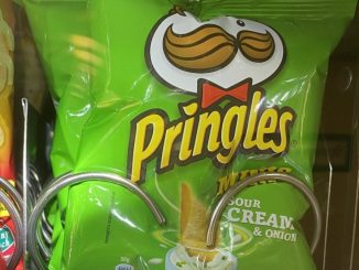 Pringles Mini Sour Cream+Onion Beutel 30G