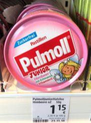 Pulmoll Junior Himbeer mit Echinacea+Vitamin C-Fee-Motiv