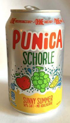 Punica Schorle Sunny Summer Getränkedose