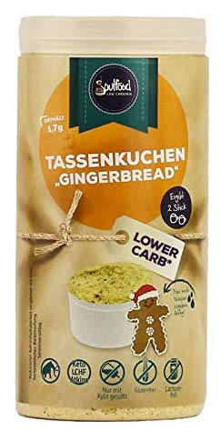 Soulfood Tassenkuchen Gingerbread Lower Carb