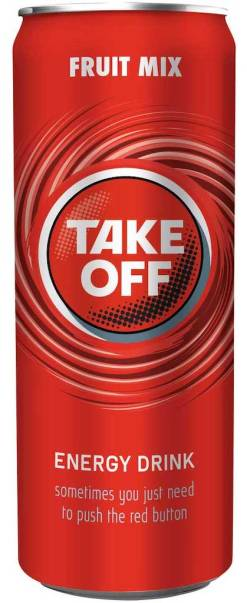 Take Off Energydrink Fruitmix 330ml