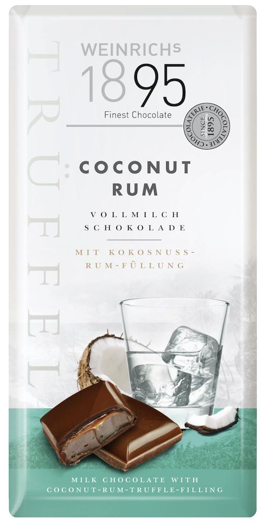 Weinrichs 1895 Coconur Rum Vollmilch-Schokolade