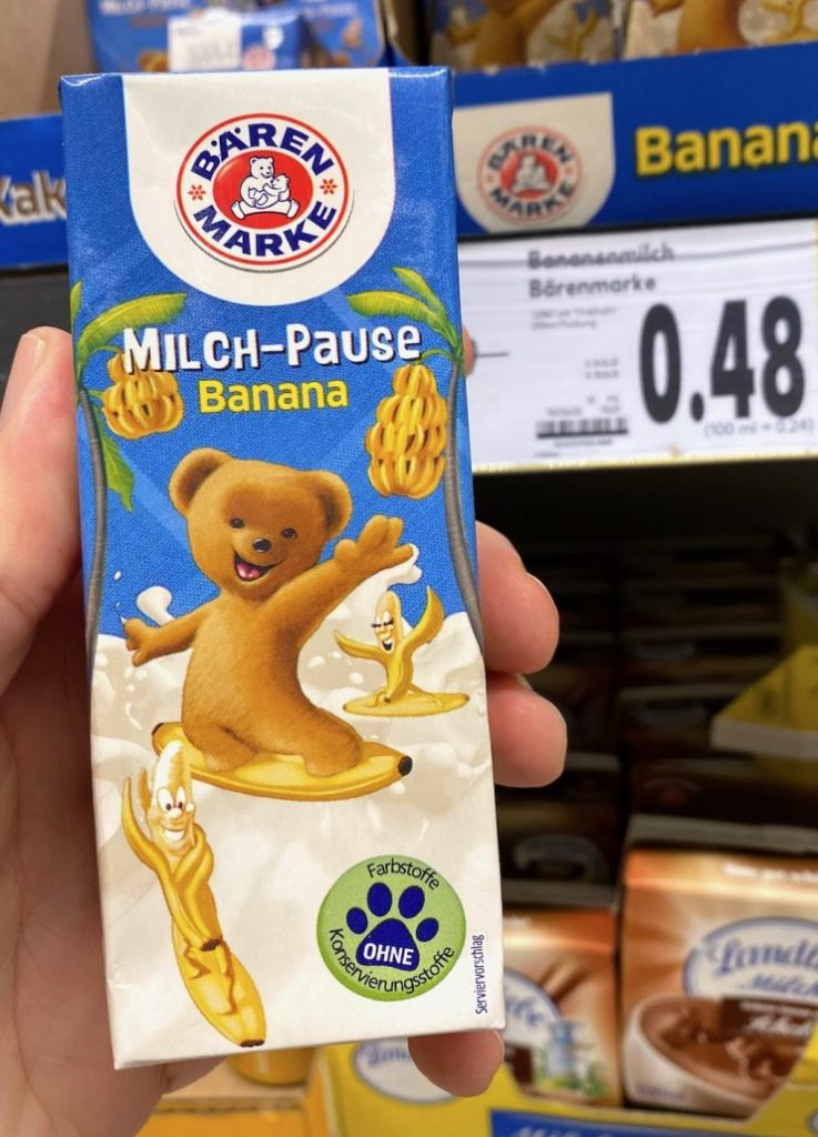 Bärenmarke Milch-Pause Banana