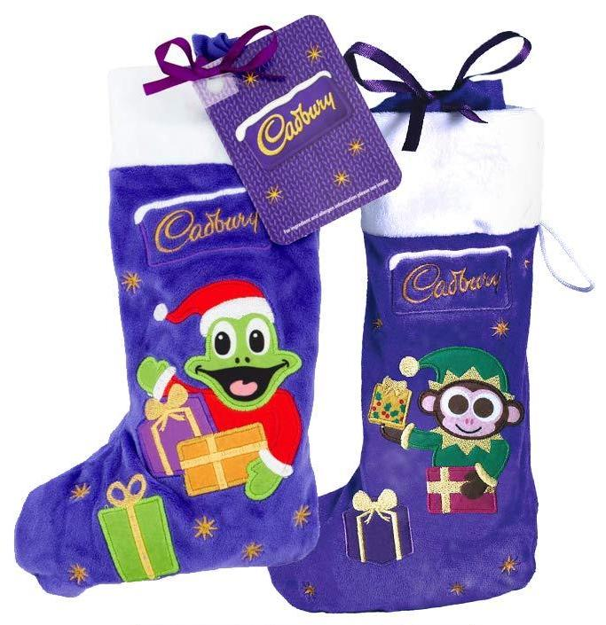 Cadbury Christmas Stocking Monkey and freddo 192g