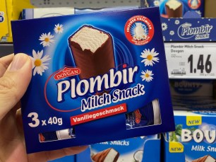 Dovgan Plombir Milch Snack Vanillegeschmack 3x40G