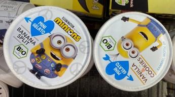 Minions Eiskrem Banana-Split -Vanilla+Cookies Pint