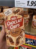 Nestlé Choclait Chips Spekulatiusgeschmack 115G NEU 2021
