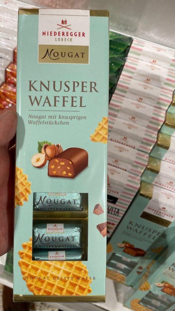 Niederegger Lübeck Nougat Knusperwaffel