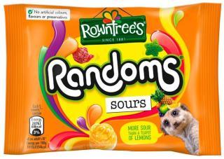 Rowntree's Randoms Sours 43g Erdmännchen Obst