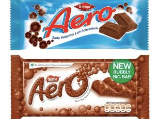 AERO-Schokolade von Trumpf und Nestlé
