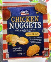 American Style Chicken Nuggets Rückseite