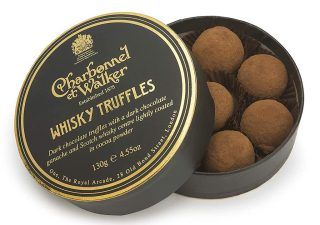 Charbonnel & Walker Whisky Truffles Runddose 130G London