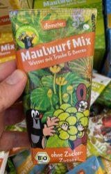 Voekel Demeter Maulwurf Mix Wasser mit Traube und Beeren Trinkpäckchen