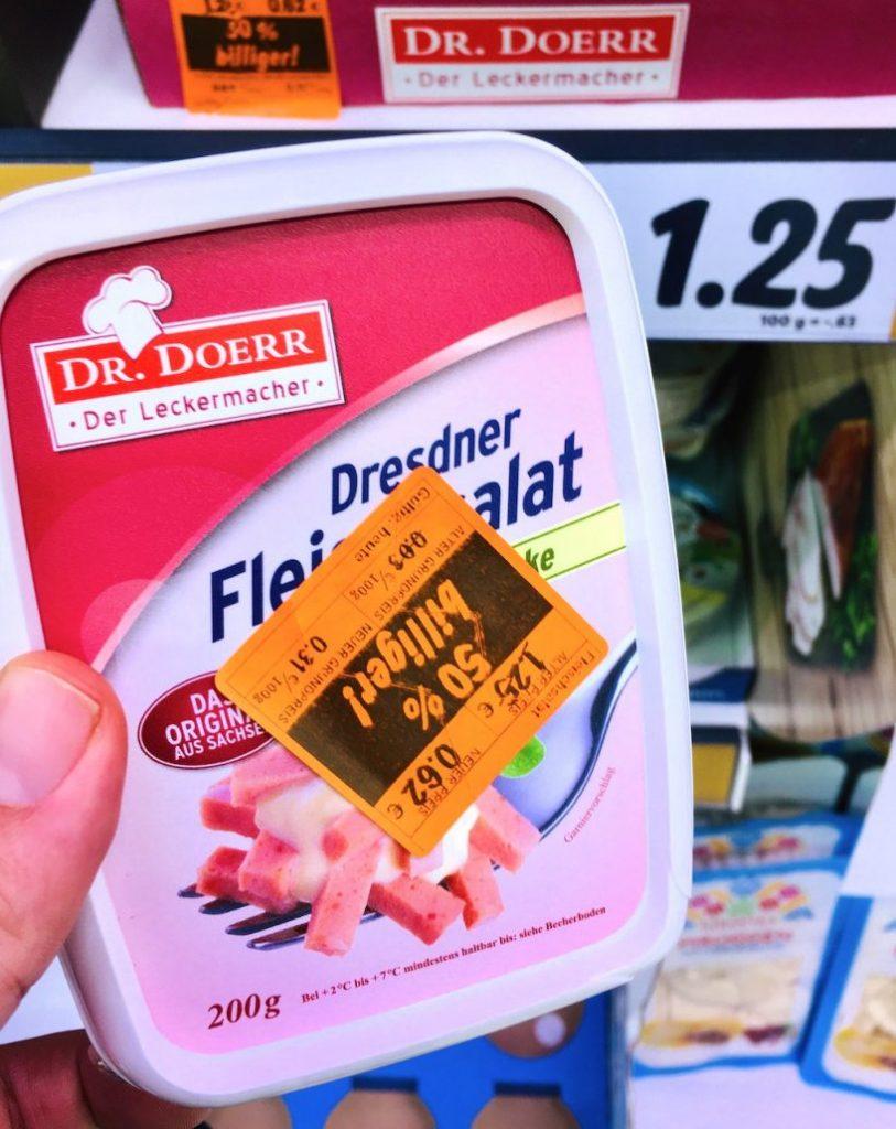 Dr Doerr Dresdner Fleischsalat ohne Gurke 200G