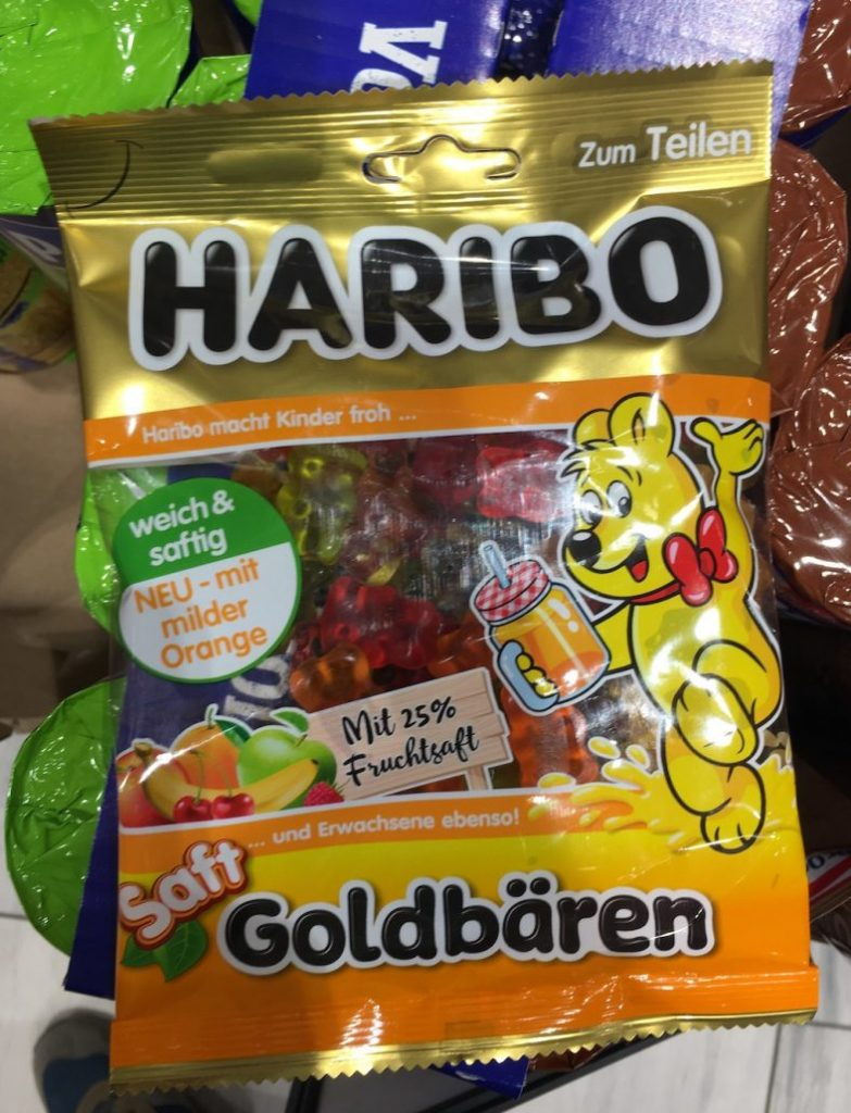 Haribo Saft-Goldbären Neu mit milder Orange
