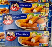 Iglo 15 Fischstäbchen Nutri-Score