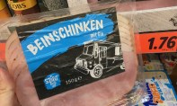 Lidl My Street Food Beinschinken mit Gin 150G