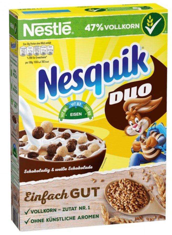 Nestlé Nesquik Duo Einfach gut Cerealien