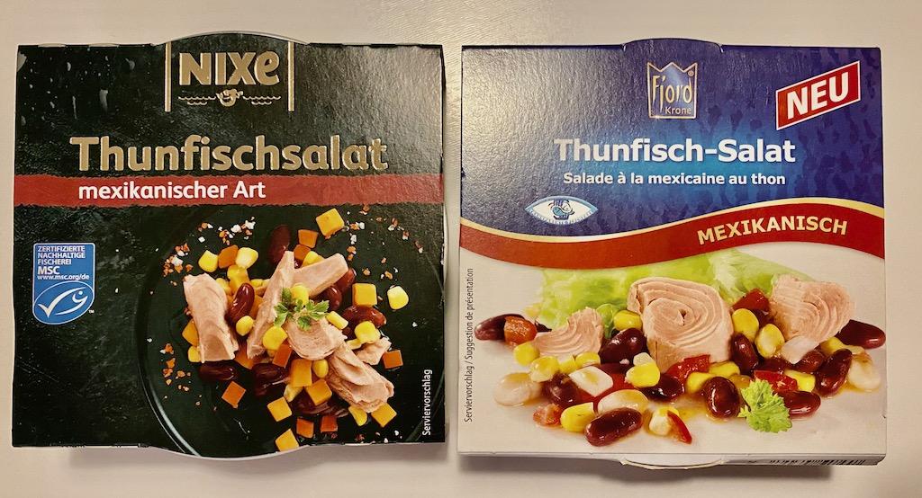 Nixe und Fjord Thunfischsalat mexikanisch