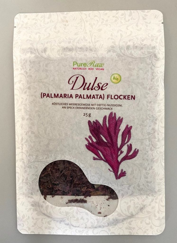 Pure Raw Dulse Alge Flocken 25G