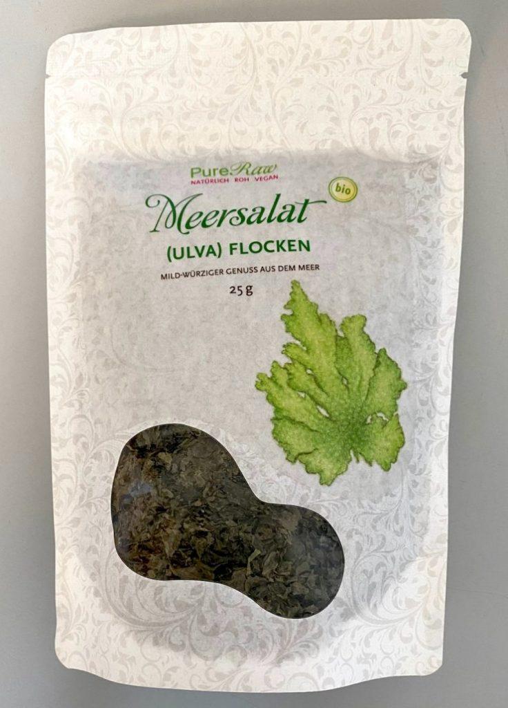 Pure Raw Meersalat Flocken Algen 25G