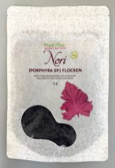 Pure Raw Nori FLocken Alge 15G