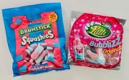 Swizzels Drumstick Squashies und Lutti Bubble Original Bubblegum-Aromen