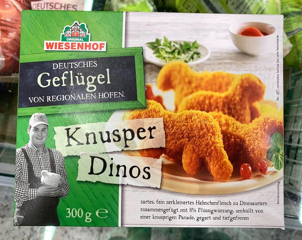 Wiesenhof Deutsches Geflügel Knusper Dinos 8% Flüssigwürzung paniert 300G