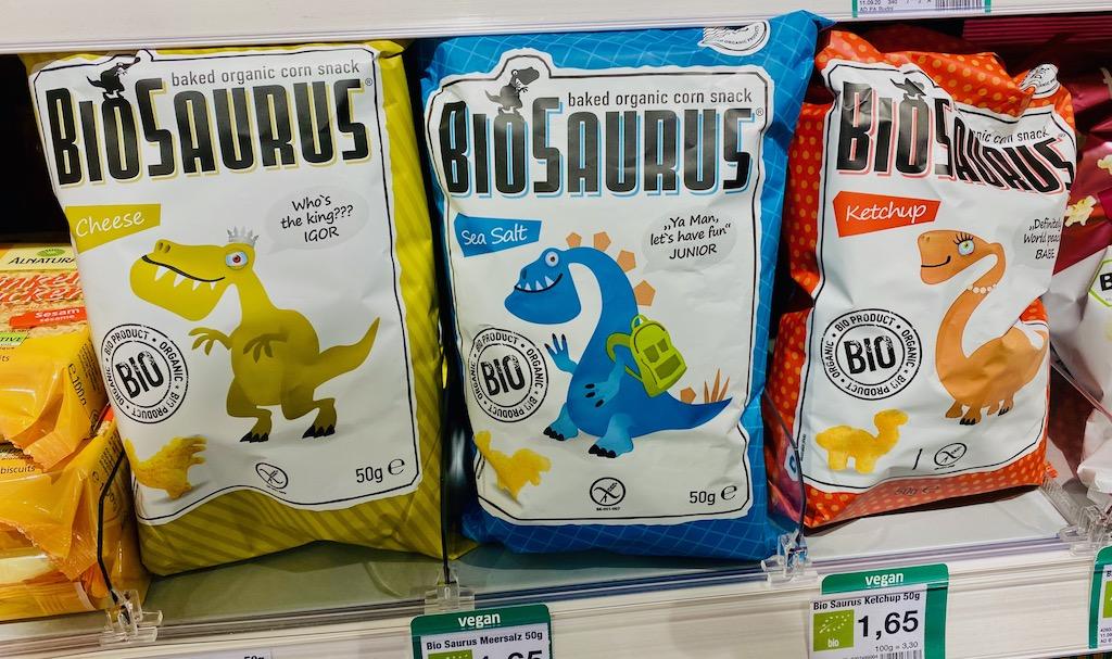 BioSaurus Cheese-Sea Salt-Ketchup 50G Dinosaurier