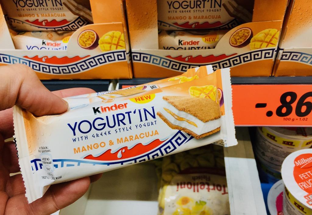 Ferrero KINDER Yogurt-In Mango+Maracuja