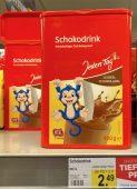Jeden Tag Schokodrink Kakaohaltiges Getränkepulver 800G Äffchen-Motiv