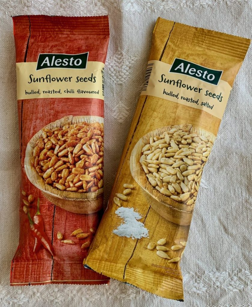 Lidl Alesto Sunflower Seeds Sonnenblumenkerne Chili-salted