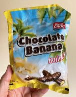 Lidl Tschechien Mister Choc Chocolate Banana minis 200G