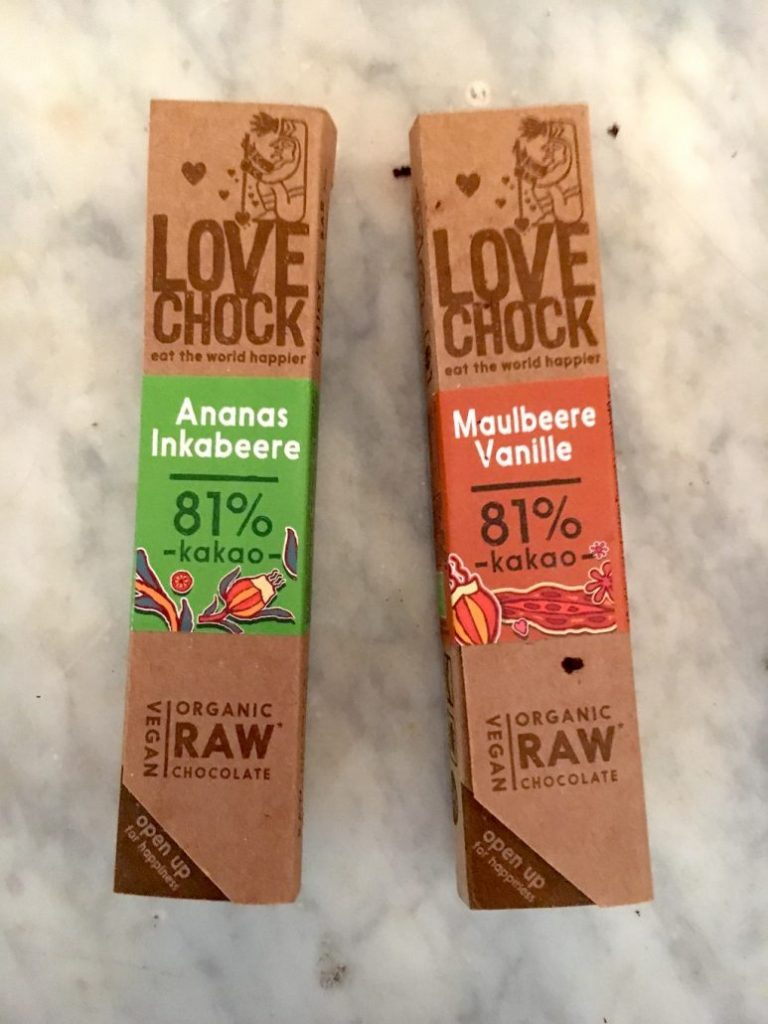 Love Chock Ananas-Inkabeere+Maulbeere-Vanille 81% Biokakao