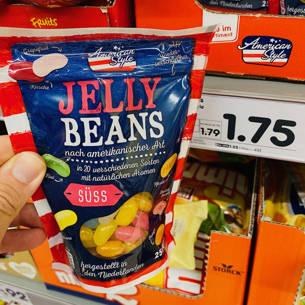 Netto American Style Jelly Beans Süss 250G