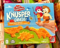 Netto Karli Kugelblitz Knusper-Dinos Hähnchen-Snacks 400G