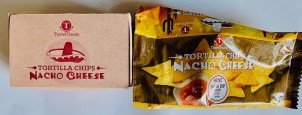 TravelTreats Tortilla Chips Nacho Cheese mit Heinz-Salsa Dip