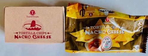 TravelTreats Tortilla Chips Nacho Cheese mit Heinz-Salsa Dip