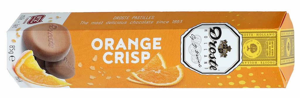 Droste Pastilles Orange Crisp 85g