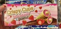 Eichetti Crispy Cups Strawberry+Hazelnut 10er Eistüten