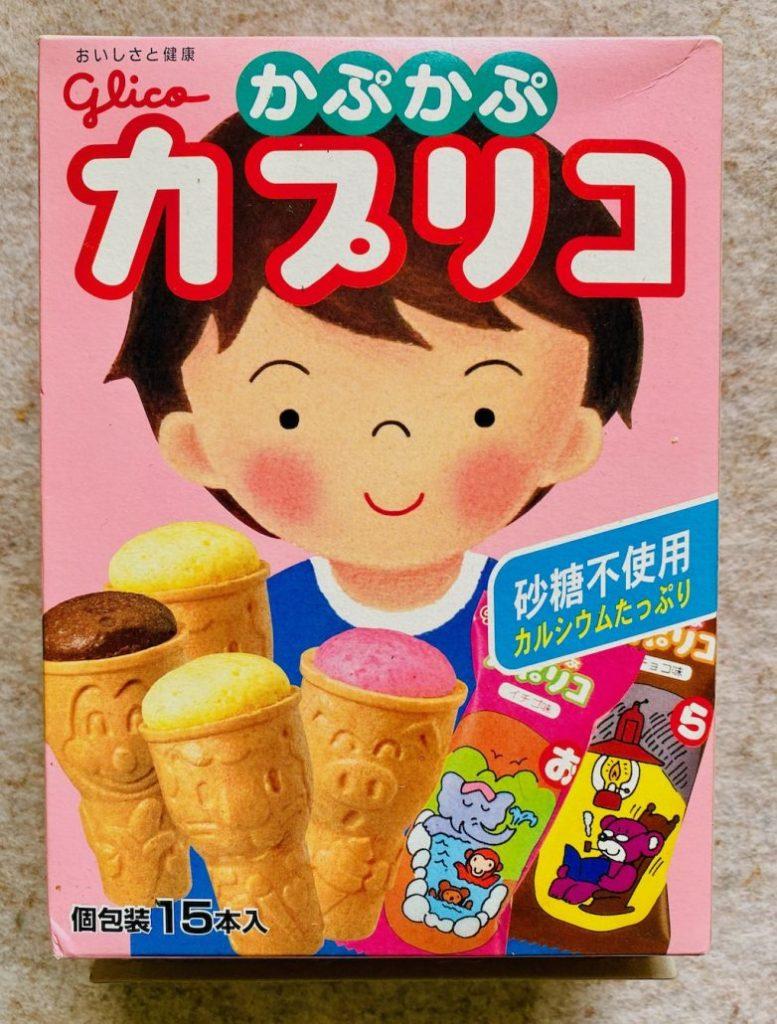 Glico Eiswaffelkekse Japan 15er