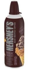 Hershey's Dairy Whipped Topping Milk Chocolate