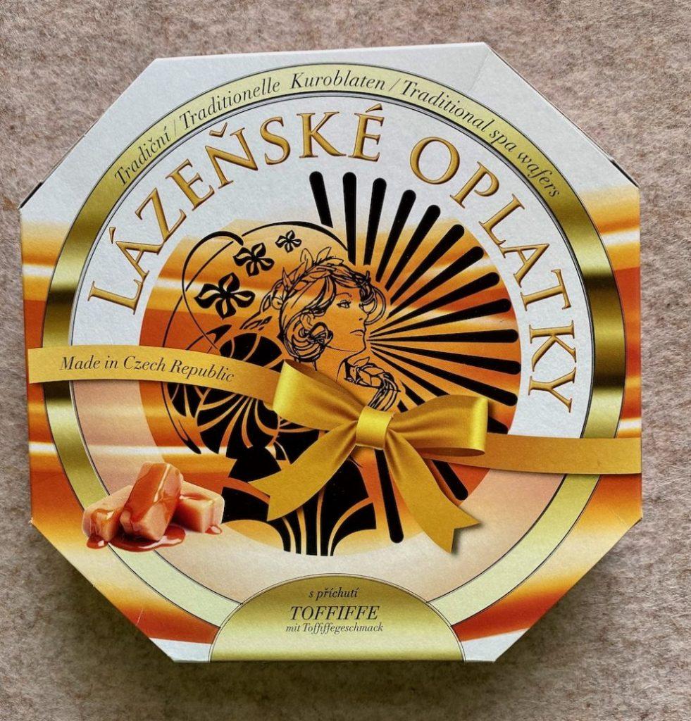 Karlsbader Oblaten Lazenske Oplatky Toffifee Tschechien