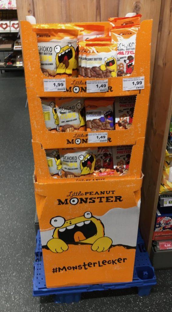 Little Peanut Monster Bodenaufsteller Viertelchep